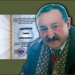 صفر عبدالله نشان زرین یگانگی قزاقستان را دریافت کرد