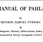 بارگیری «دستورنامهی پارسیگ» نیبرگ
