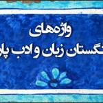 بارگیری پنج دفتر از واژههای فرهنگستان زبان و ادب فارسی